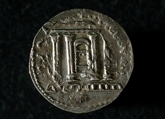 Bar Kokhba Coin Back
