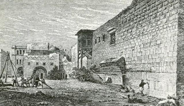 Drawing_of_Robinson's_Arch