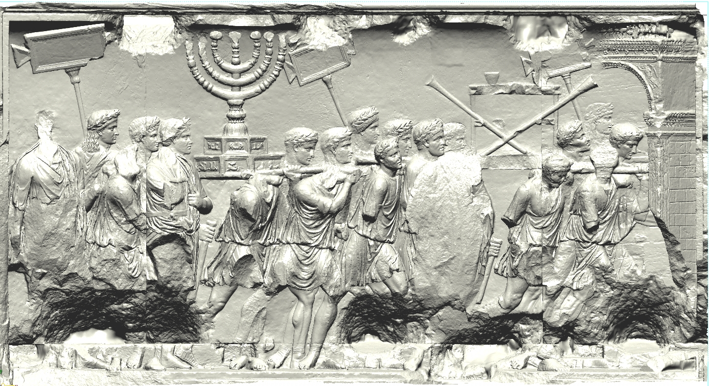 16. Scan of the Arch of Titus Spolia Panel
