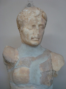 Augustus with Cross