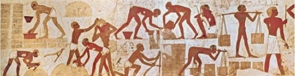 Wall painting from the Tomb of Rekhmire