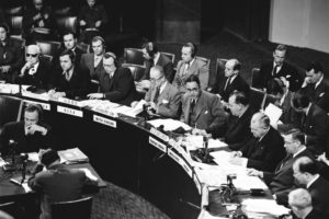 General Burns submitted reports to the UN Security Council