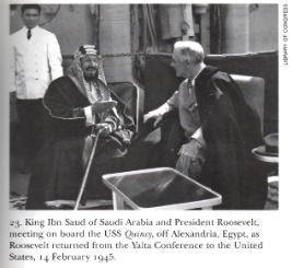 Roosevelt and King Ibn Saud