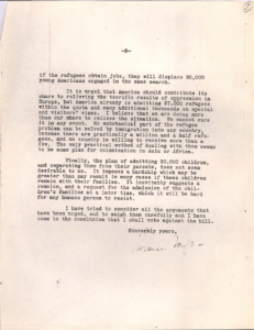 Letter from Robert Taft pg2