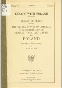 Treaty with Poland