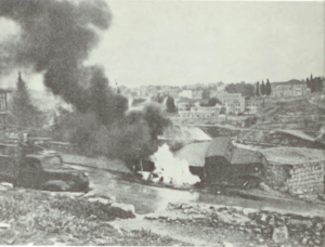 Mt Scopus Hadassah Hospital Massacre April 13, 1948