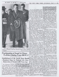 New York Times May 15 1948