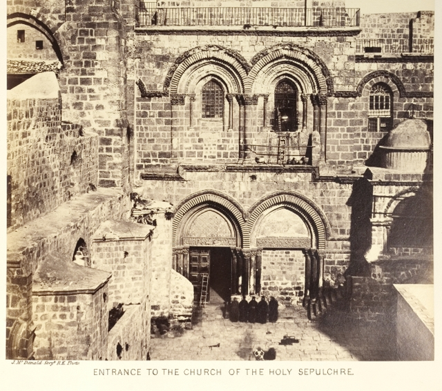 Entrance to the Church of the Holy Sepulchre 2.JPG