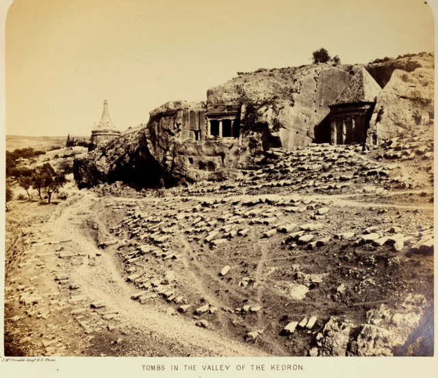 Tombs in the Valley of Kedron.jpg