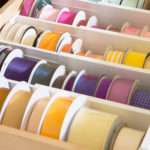 Organized ribbon drawer