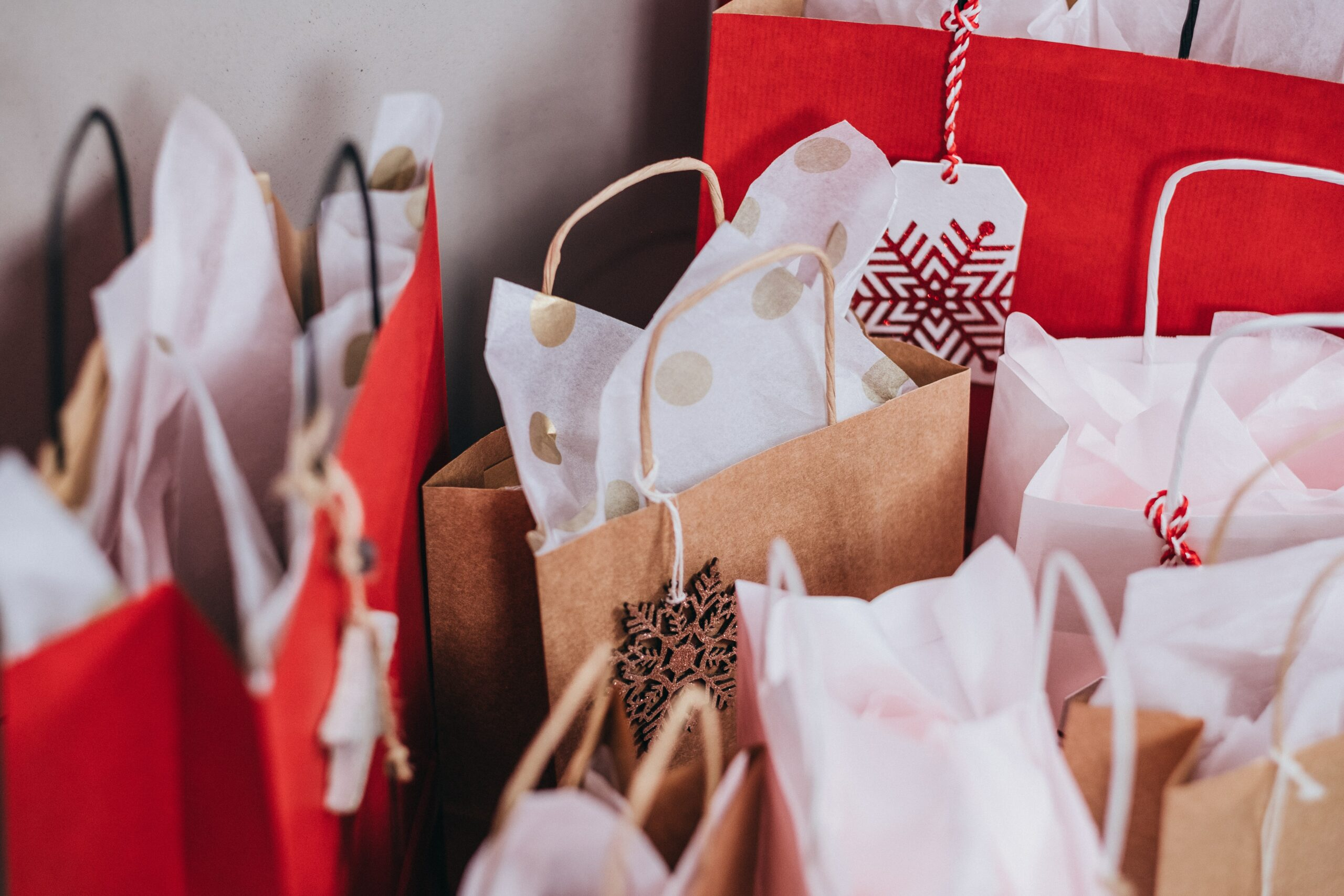 Bunch of Gift Bags