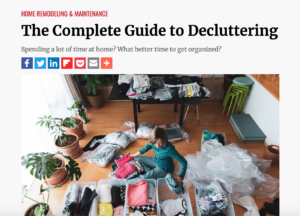 The Complete Guide to Decluttering - Abundance Organizing Featured in Kiplinger