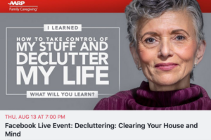 FREE Facebook LIVE Event With Mindy Godding Hosted by AARP
