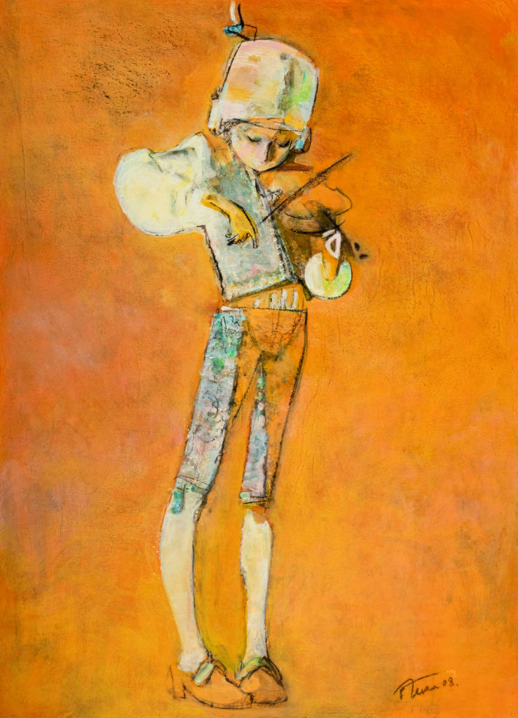 Wolfgang Acrylic on Canvas - Original, 145.0 x 90.0 cm