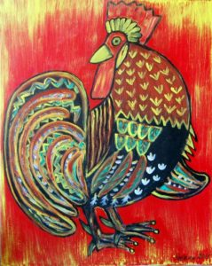 Fairy Tale Animals - Rooster