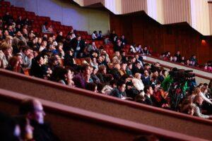 crowd - audience - public speaking