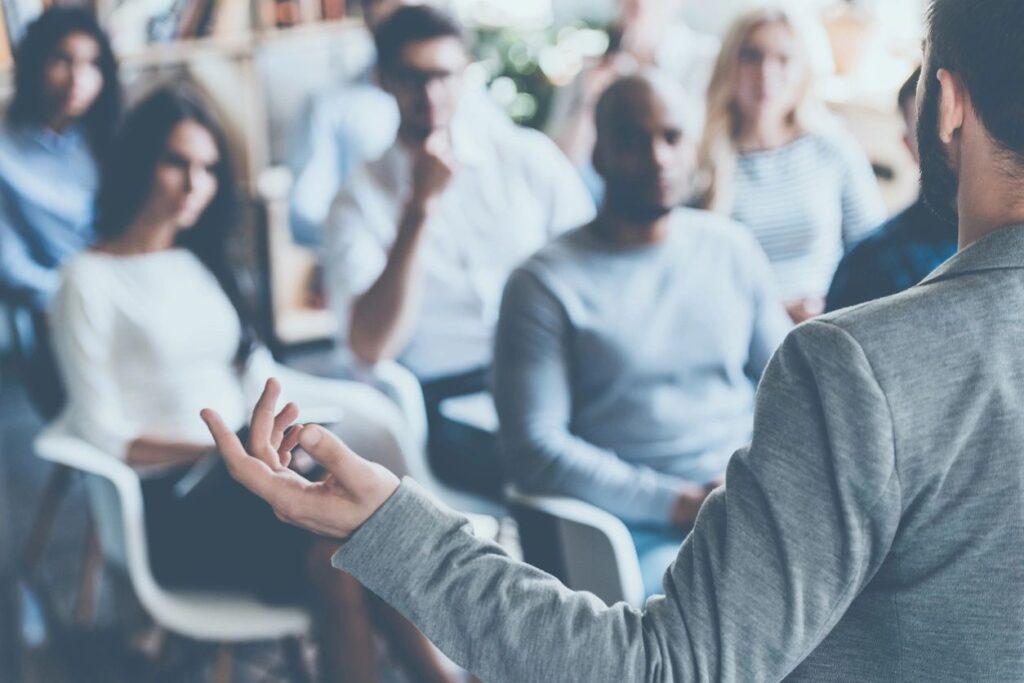 spotlight effect public speaking