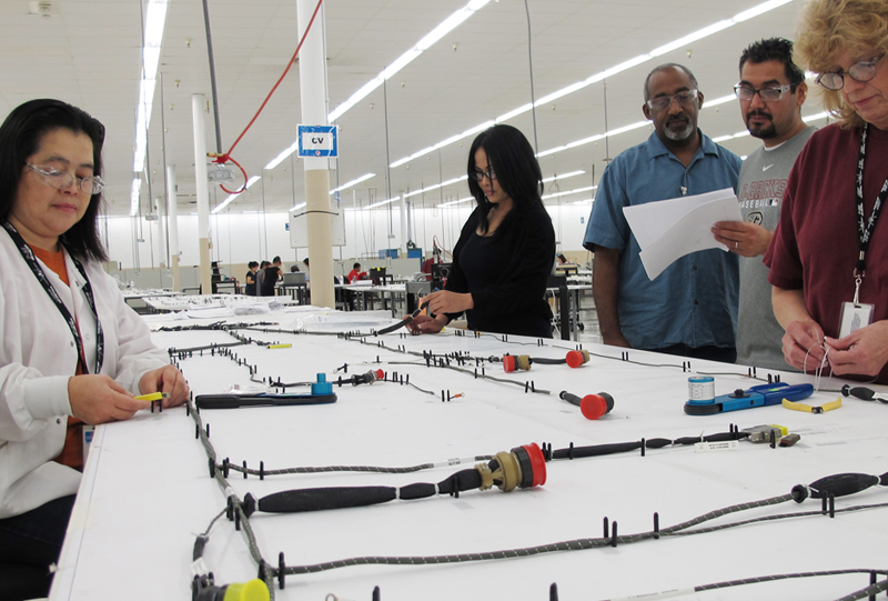 Electrical wire harness and cables manufacturing