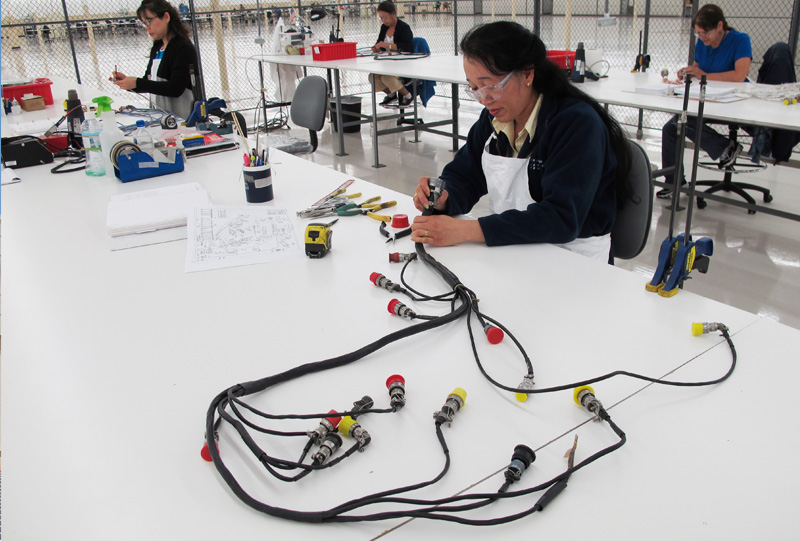 Electrical wiring cable repair center