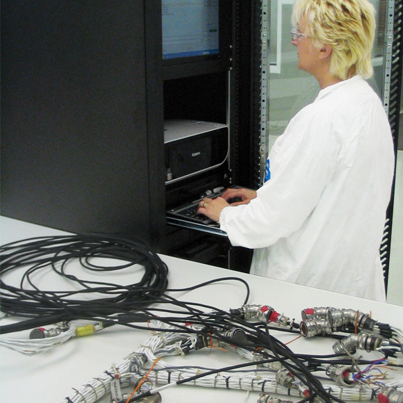 Automated electrical harness tester