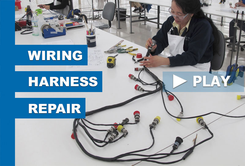 Harness Repairs Keep Aircraft Flying | CIA&D on