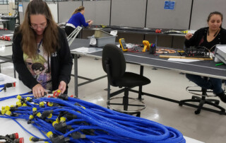 Aerospace Wiring Harness Quality Assurance Inspection