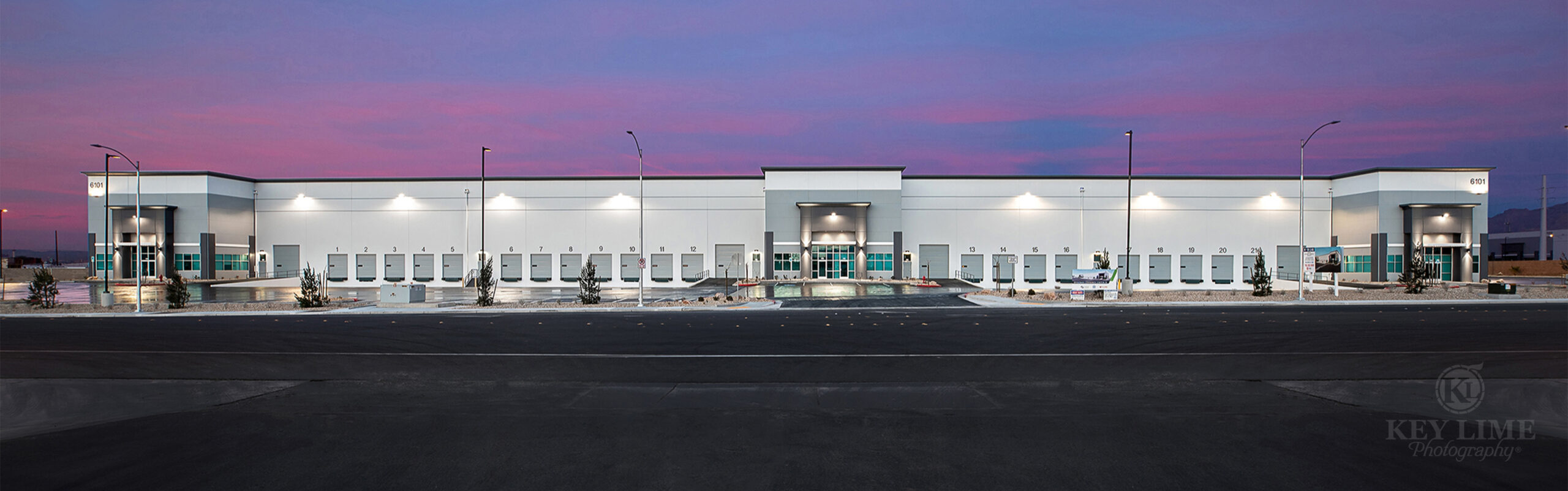 Architectural photo, warehouse, industrial building