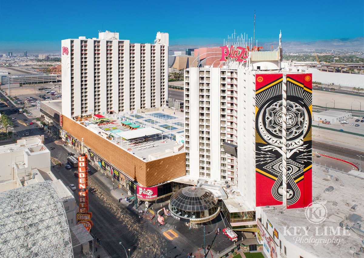 Drone photography in Las Vegas