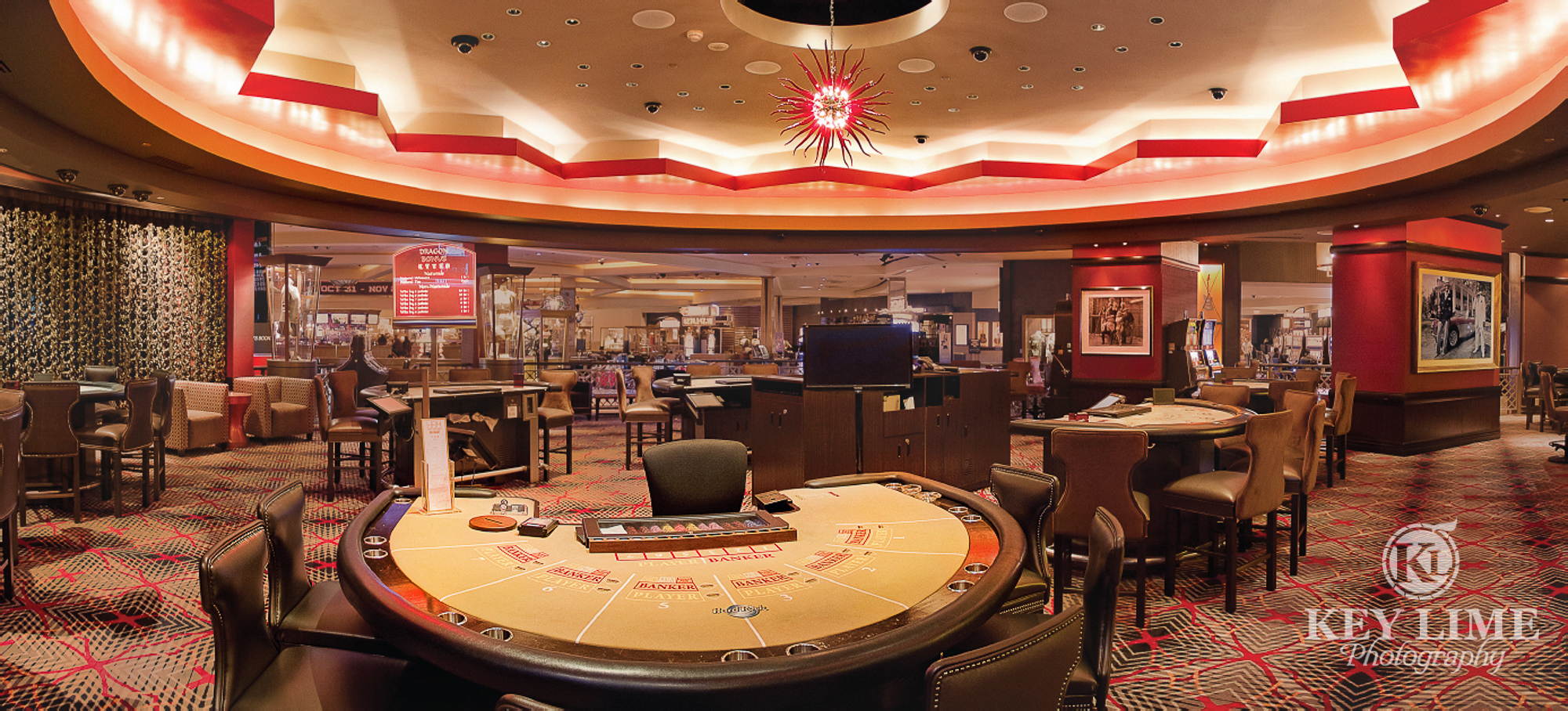 Casino Interior Photography