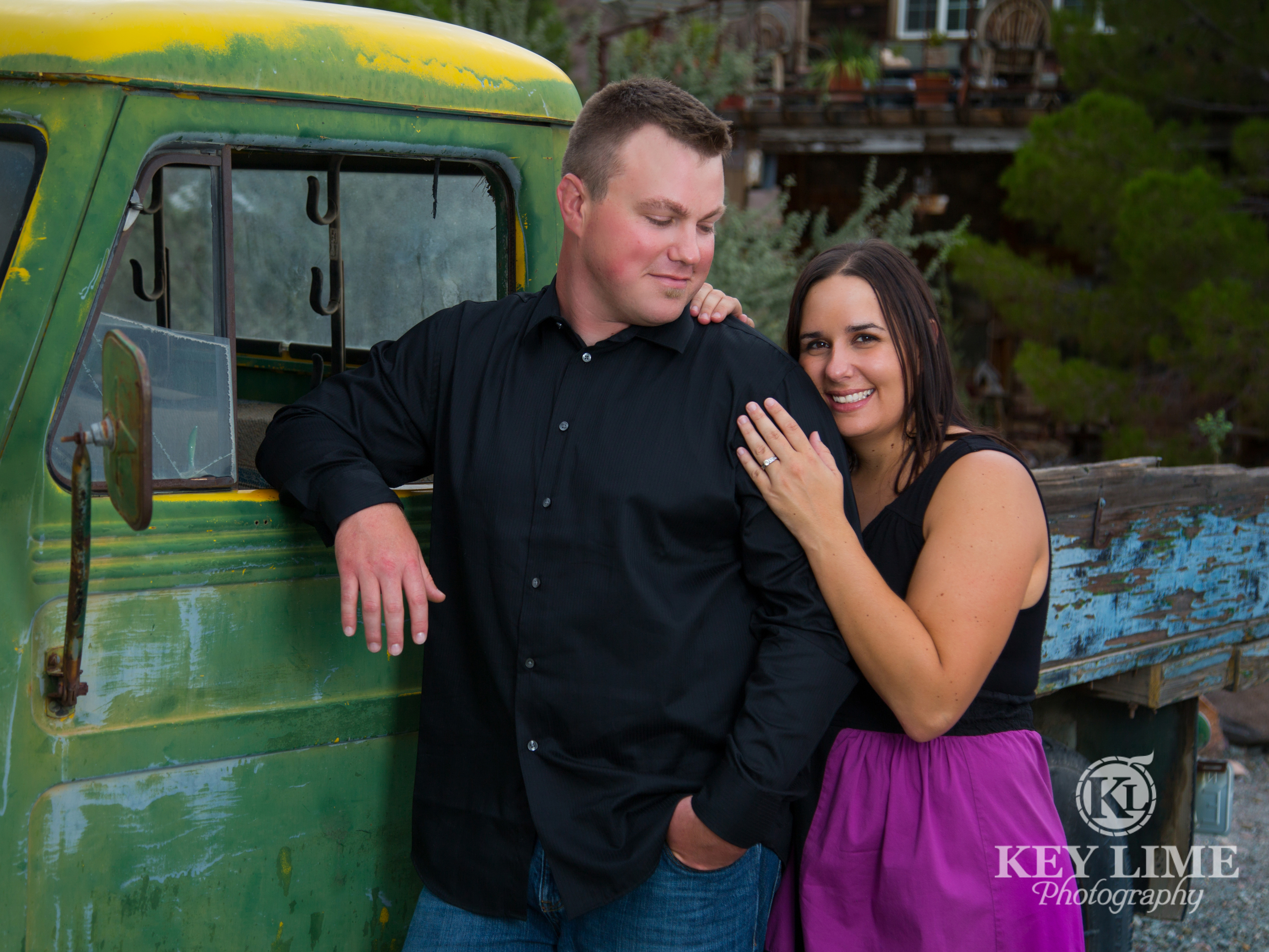 Engagement Session at Nelsons Ghost Town