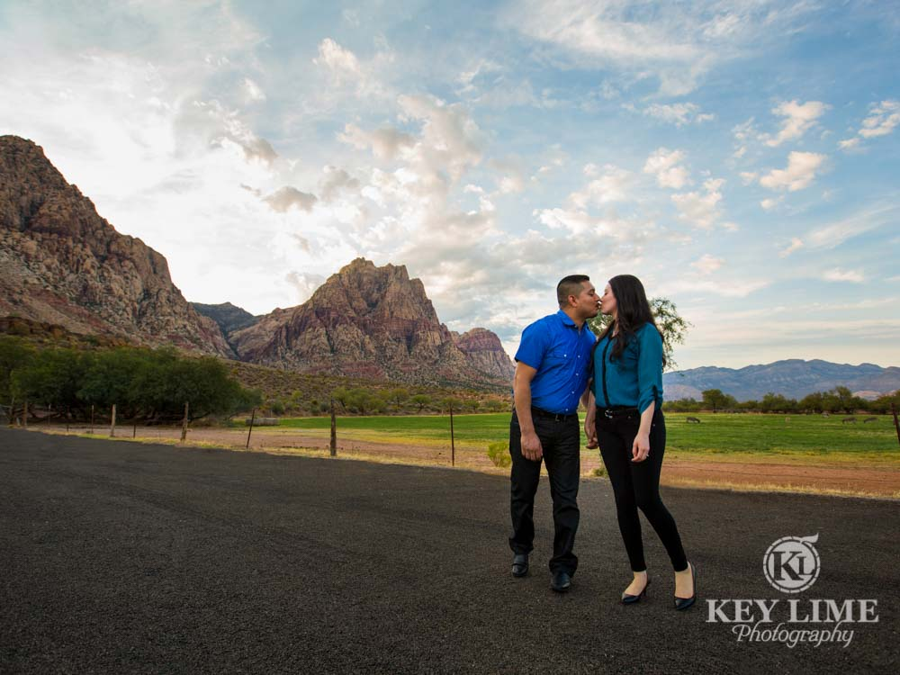 Spring Mountain Ranch engagement photography