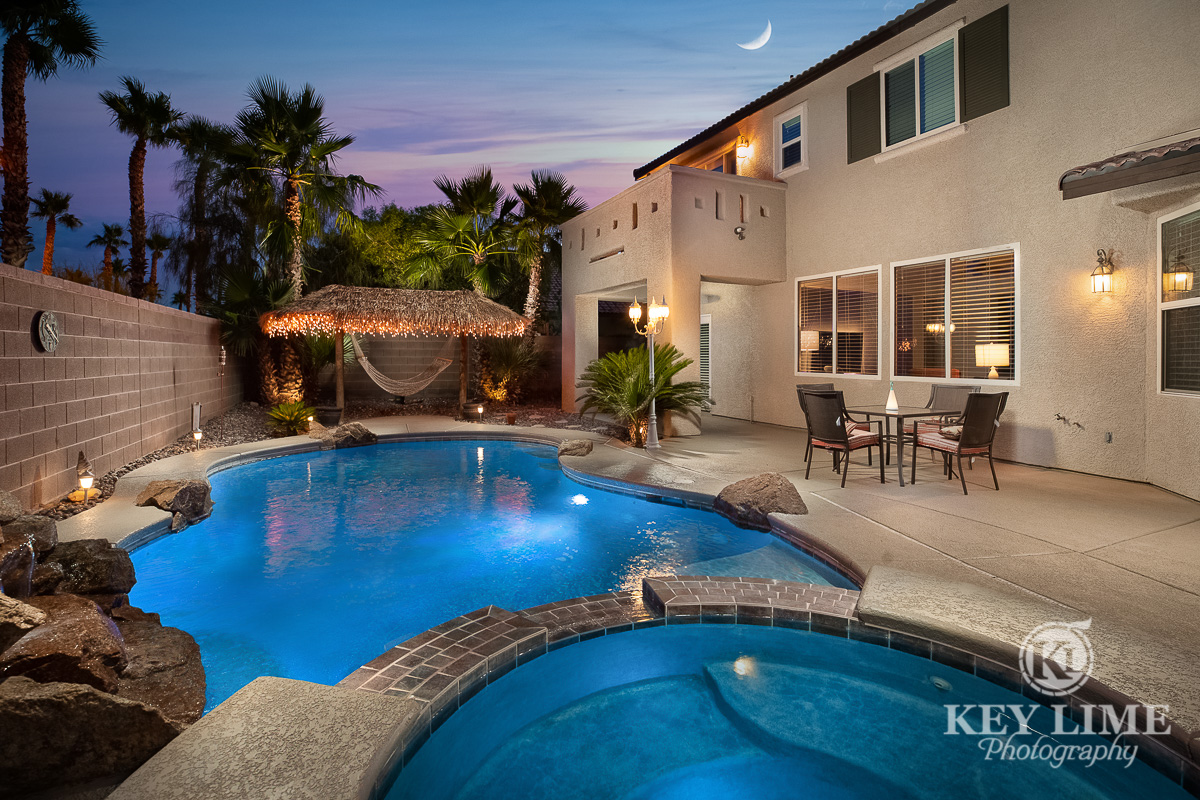 Residential architecture photographer in Las Vegas