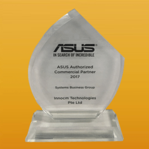 ASUS Authorized Commercial Partner 2017
