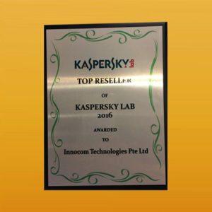 Kaspersky Top Reseller 2016