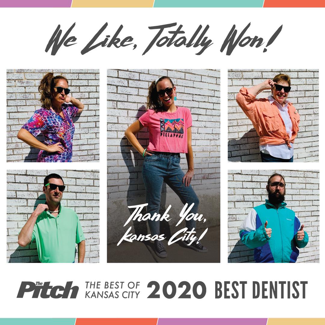 We Won Best Dentist KC