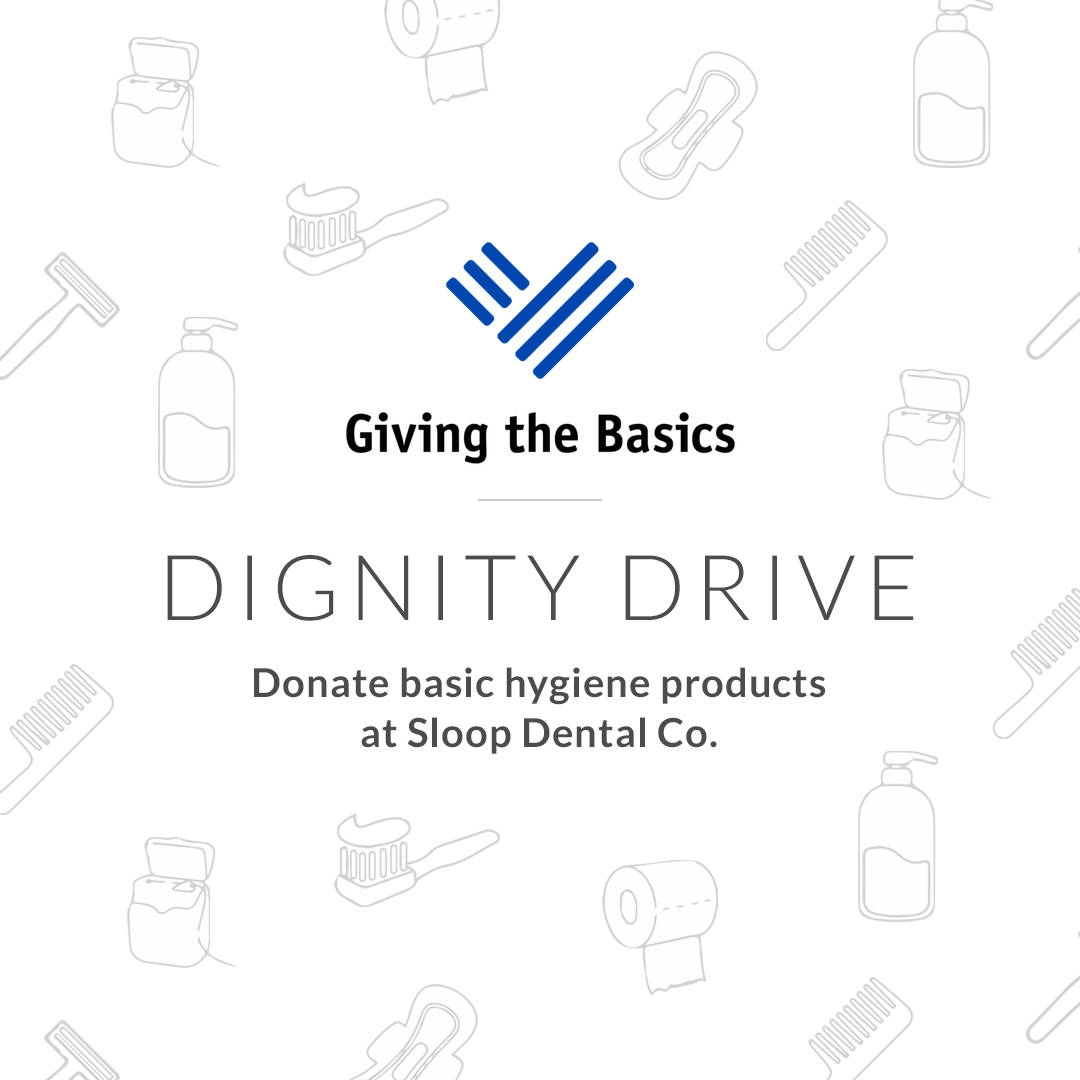 giving the basics dignity drive