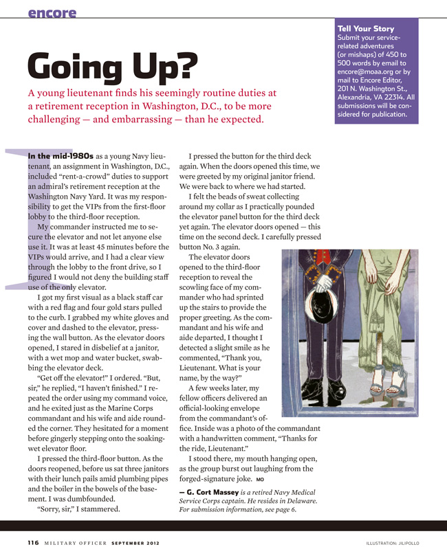 going up? article (web news)