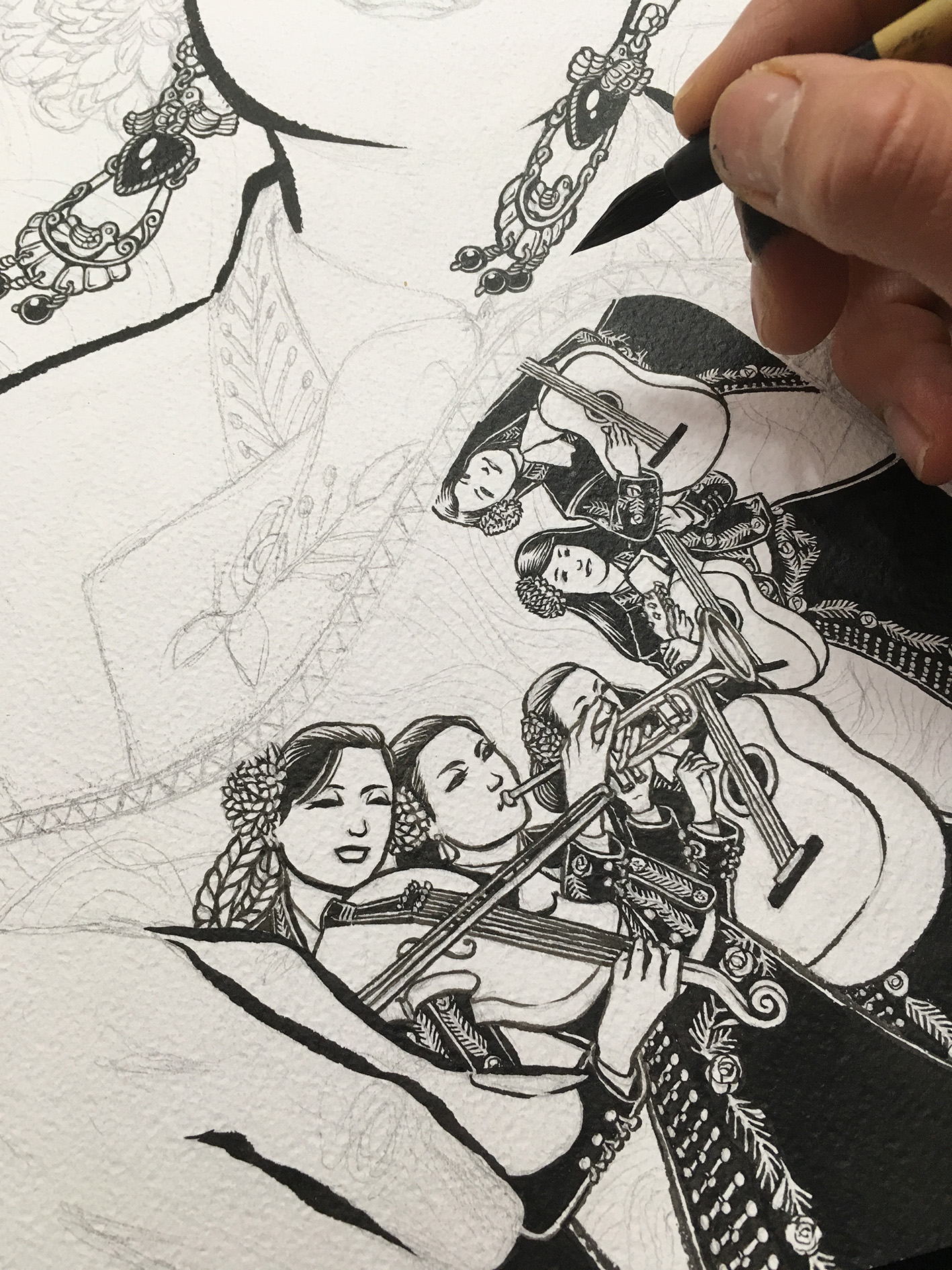 inking process 1