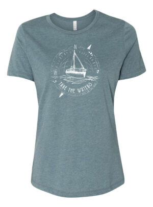 """Off To The Sea"" Women's T-Shirt"