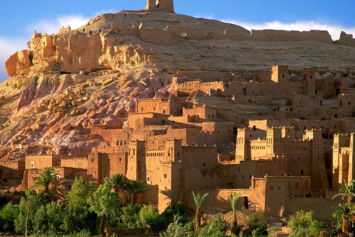 Morocco_Kasbah_Ruins_Ait_Benhaddou_