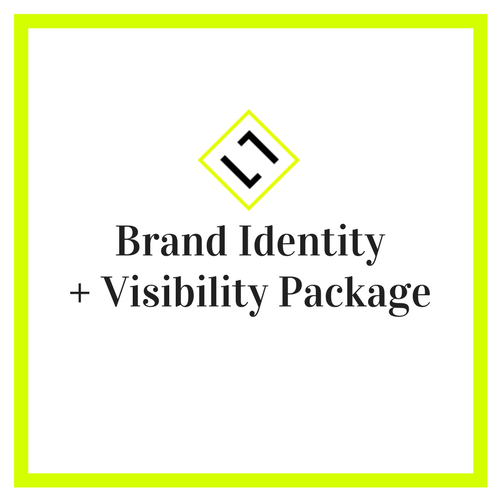 Brand Identity plus Visibility Package