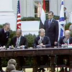 Signing The Peace Accord