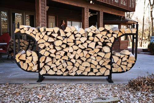 Delivered firewood