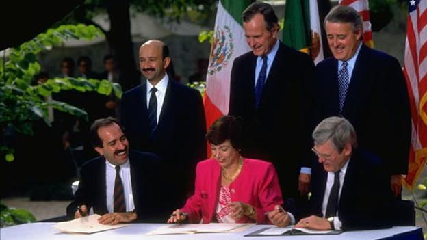 Nafta Mulroney Bush Mexico 2