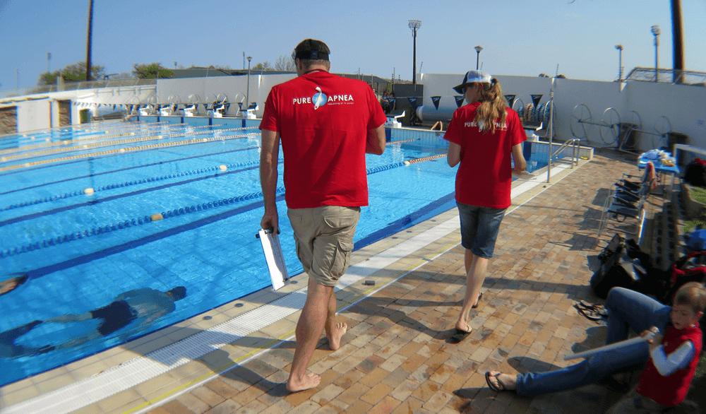 Freediving Judges