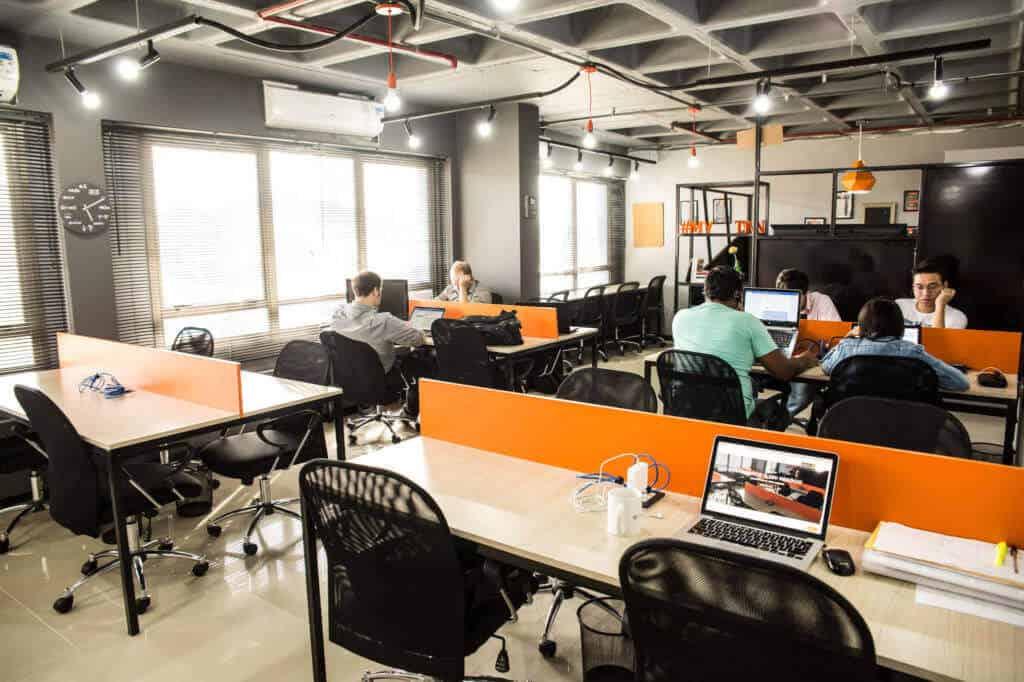 Espaço de Coworking do Coworking Town