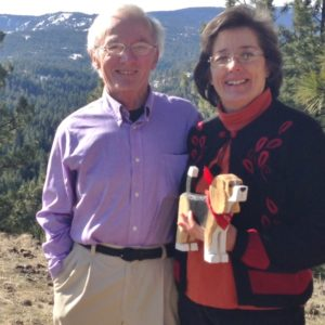 Dennis Sullivan and Frances Conklin, artists & innkeepers