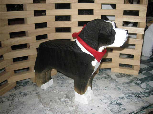 Folk Art Of Greater Swiss Mountain Dog