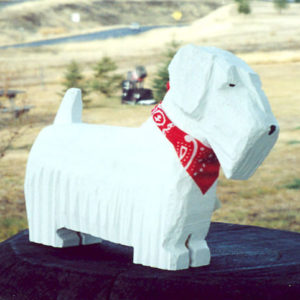 Sealyham Terrier Sculpture