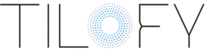 tilofy logo white background